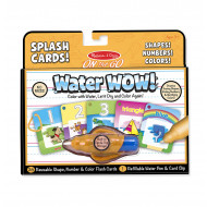 M&D - On The Go - Water WOW! Splash Cards - Shapes! Numbers! Colors!