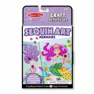 M&D - On The Go - Sequin Art - Mermaids