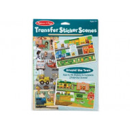 Melissa & Doug - Transfer Sticker Scenes - Town