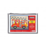 12 Pc Puzzle- Fire Truck