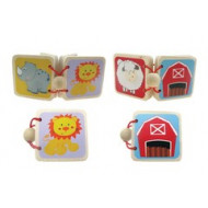 Mini Wooden Picture Book Assorted