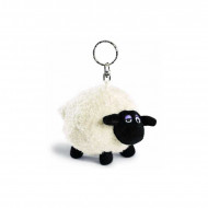 Shirley Sheep Beanbag Keyring