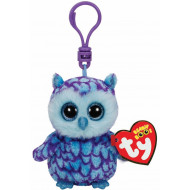 Beanie Boos Oscar the Blue Owl Clip