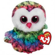 Beanie Boos Owen the Multicolour Owl Regula