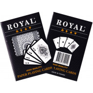 Royal Plastic Coated Single Deck of Cards