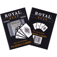 Royal Plastic Coated Double Deck of Cards