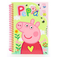 Peppa Pig A5 Notebook with Stickers
