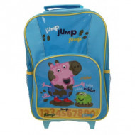 Peppa Pig George Wheelie Bag