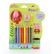 Peppa Pig Triangular Coloured Pencil