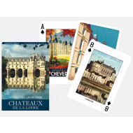 Chateaux De La Loire Deck of Playing Cards