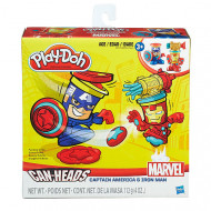 Play Doh Marvel Canheads