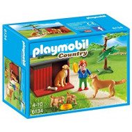 Playmobil - Golden Retrievers with Toy