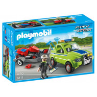 Playmobil - Landscaper with Lawn Mower