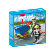 Playmobil - Sanitation Team