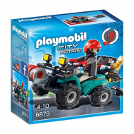 Playmobil - Robbers Quad with Loot