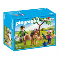 Playmobil - Vet with Pony and Foal