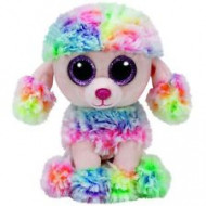 Beanie Boos Rainbow the Multicolour Poodle Regular