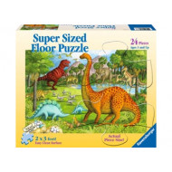 Ravensburger - Dinosaur Pals 24pc SuperSize Puzzle