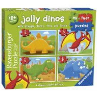 Ravensburger - Jolly Dinos First Puzzle 2 3 4 5pc