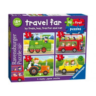 Ravensburger - Travel Far My First Puzzle 2 3 4 5pc