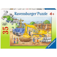 Ravensburger - Busy Builders Puzzle 35pc