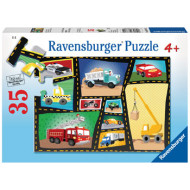 Ravensburger - Engines & Tires Puzzle 35pc