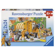 Ravensburger - Trash Removal Puzzle 2x24pc
