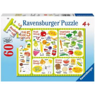 Ravensburger - A Healthy Diet Puzzle 60pc