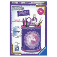 Ravensburger - Unicorn Utensil Holder Girly Girl 54pc