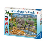 Ravensburger - Animals In Africa Puzzle 200pc
