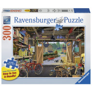 Ravensburger - Grandpas Garage Lge Form Puz 300pc