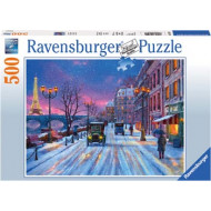 Ravensburger - Winter In Paris Puzzle 500pc