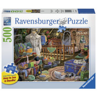 Ravensburger - The Attic Lge Form Puzzle 500pc