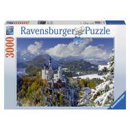 Ravensburger - Neuschwanstein Winter Puzzle 3000pc