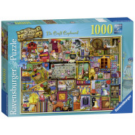 Ravensburger - The Craft Cupboard Puzzle 1000pc - Colin Thompson