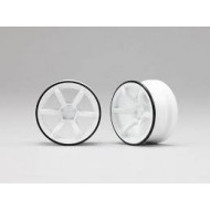 Yokomo RP High-Traction Drift Wheel - White