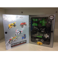 Quad & Dirt Bike Diecast Model Kit