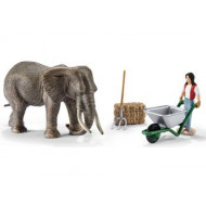 Schleich - Elephant Care Set