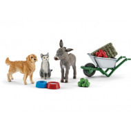 Schleich - Feeding on the Farm