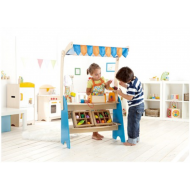 Hape Market Checkout Fresh Food Stand