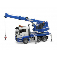 Bruder 1:16 MAN TGS Crane Track with Light & Sound Module