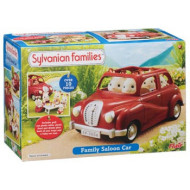 Sylvanian Families Family Saloon Car Red