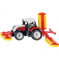 Siku Steyr with Pottinger Mower Combination