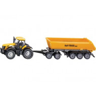 Siku Tractor w Dolly & Tipping Trailer