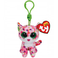 Beanie Boos Clip Ons Pink Cat