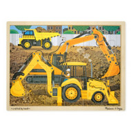 M&D - Diggers At Work Jigsaw - 24pc