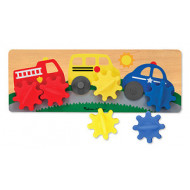 Melissa & Doug Vehicle Gear Board