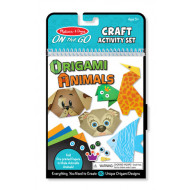 M&D - On The Go - Craft Set - Origami Animals