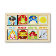 M&D - Wooden Story Blocks