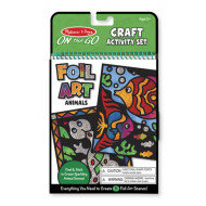 M&D - On The Go - Foil Art - Animals
